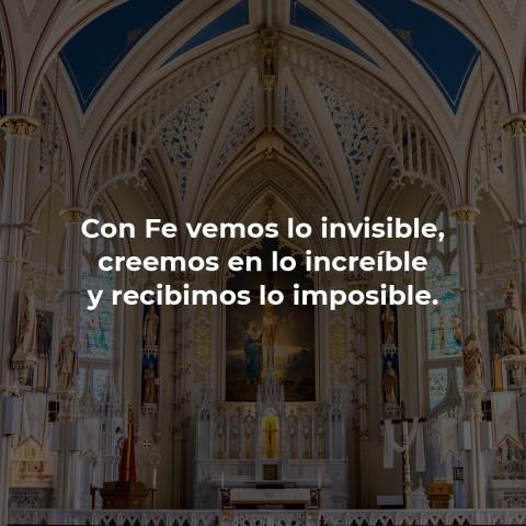 La Fe todo lo puede