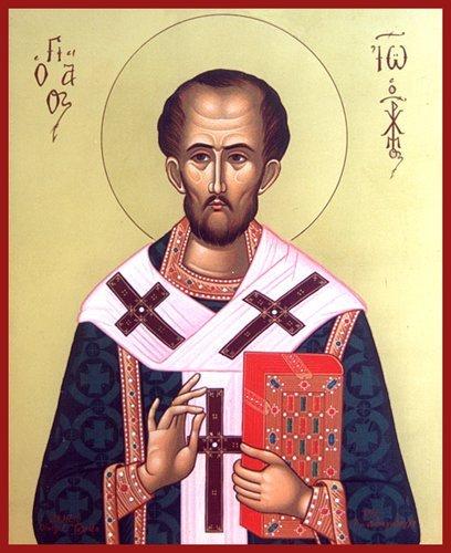 13 de septiembre – San Juan Crisóstomo