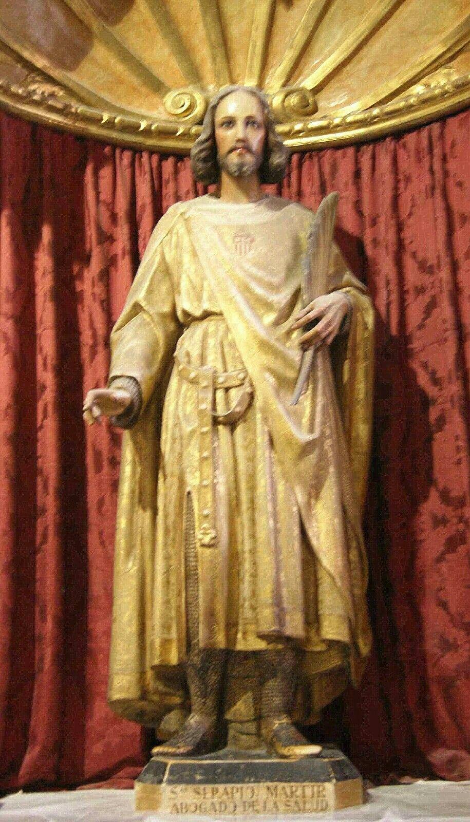 14 de noviembre – San Serapio